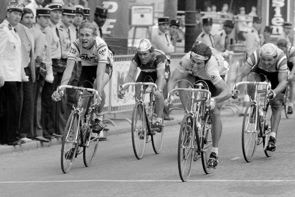 Et la dernière étape pour la route ! Hinault vainqueur de son 4e Tour de France sur les Champs le 25 juillet 1982