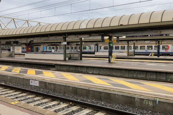 Lyon - Gare Part-Dieu, le trafic TER s'annonce perturbé ce mardi 15 décembre, en raison d'un mouvement de grève des contrôleurs - (image archive)
