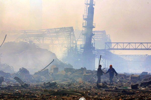 L'explosion du hangar 221 de l'usine AZF, le 21 septembre 2001, a fait 31 morts et des milliers de blessés.