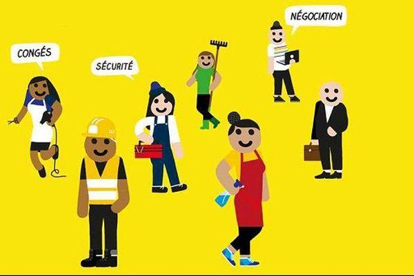 Détail de l'affiche campagne de vote 2016/2017