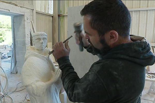 Emmanuel Marsallon, tailleur de pierres corrézien, une passion faîte vie !