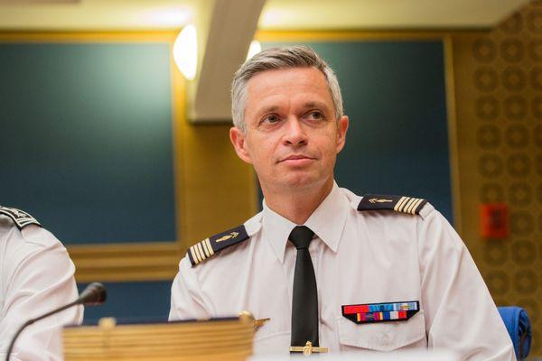 Lionel Lavergne, en 2018, lors de son audition par les députés dans le cadre de l'affaire Benalla