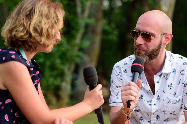 Interview de Pascal Arbez-Nicolas, alias Vitalic, par Lucie Thiery