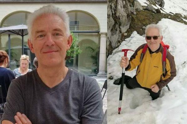 José Andres FUNES MONGE (nationalité espagnole) 61 ans en résidence à Lées-Athas (64), 1m.75, fin de corpulence, cheveux blancs courts, porte des lunettes de vue.