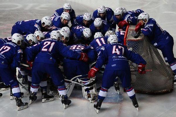 Hockey-sur-glace les Bleus à Amiens
