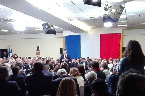 Emmanuel Macron à Evry-Courcouronnes.