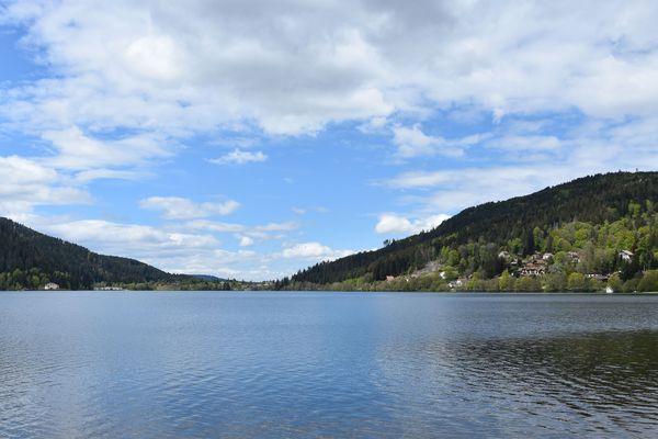 Le lac de Gérardmer.