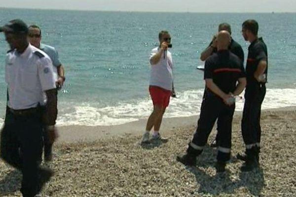 C'est un plaisancier qui croisait au large de Marina qui a prévenu les pompiers