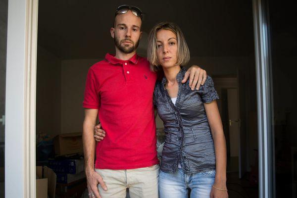 Samira et Mickael Coviaux, parents du petit Yanis, sont originaires de Grenoble.