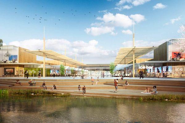 Le projet de centre commercial Val Tolosa doit se construire sur la commune de Plaisance-du-Touch, près de Toulouse (Haute-Garonne).