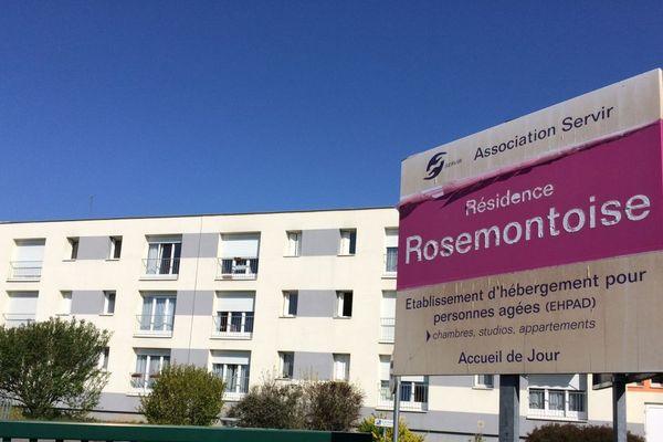 L'Ehpad de la Rosemontoise à Valdoie.