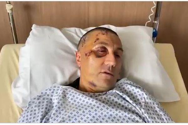 Encore hospitalisé en soins intensifs, le policier grièvement blessé donne de ses nouvelles via twitter