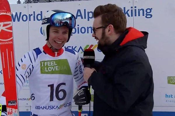 A 18 ans, Arthur Bauchet est sacré champion du monde de slalom géant pour la deuxième fois.