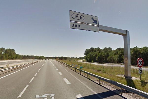 La sortie est obligatoire en direction de Bordeaux via l'échangeur n°9. -