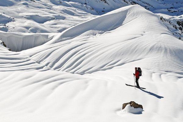 Ski à Artouste