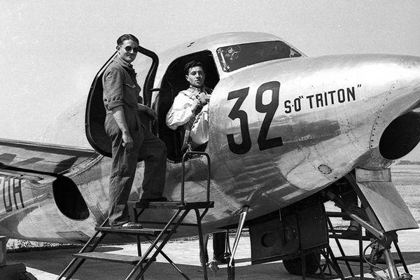 Le Triton, premier avion à réaction français