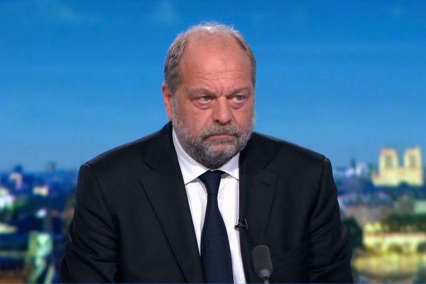 Le ministre de la Justice Eric Dupond-Moretti, dimanche 19 juillet sur le plateau du 20h de France 2.