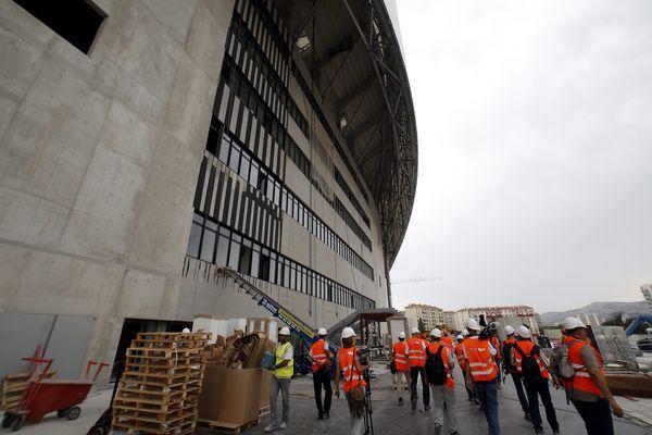 Un centre commercial de 21 000 m2 va voir le jour au pied du Stade Vélodrome à Marseille.