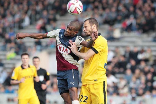 Bordeaux / Lille lors le leur rencontre du 30 novembre 2014 au Stade Chaban-Delmas