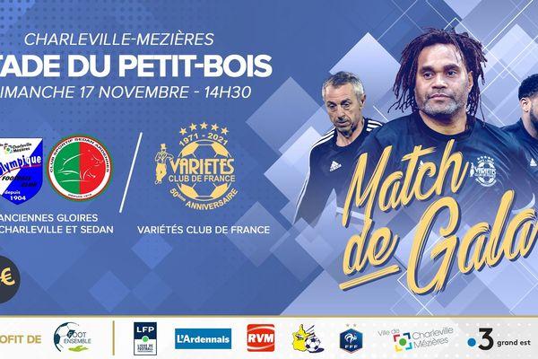 Un match de gala avec le Variety club de France et des anciens du CSSA est organisé le 17 novembre au profit de l'association Foot ensemble qui lutte contre l'homophobie dans les stades.