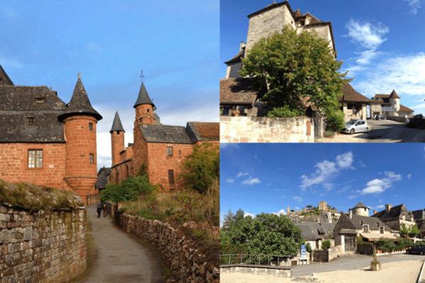 Collonges-la-Rouge, Curemonte et Turenne comptent parmi les plus beaux villages de France.