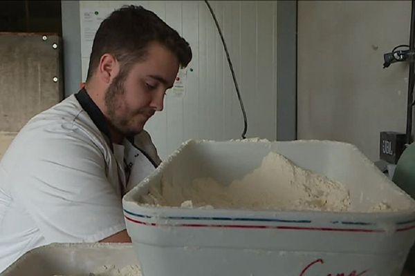 Jordan Ayrton veut défendre la boulangerie artisanale.