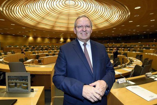 Patrick Weiten, le président du conseil départemental de la Moselle, a été réélu dans le canton de Yutz.