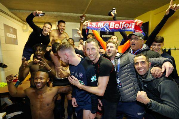 Les joueurs de l'ASM Belfort disputeront les 1/4 de finale de la Coupe de France.
