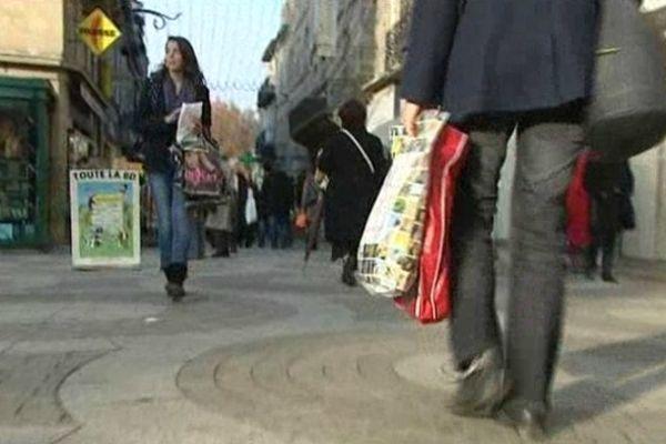 Les commerçants craignent de voir leur chiffre d'affaire de la fin d'année baisser.