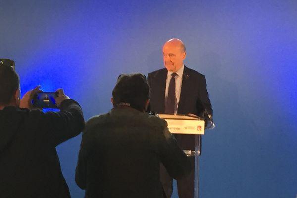 conférence de presse d'Alain Juppé
