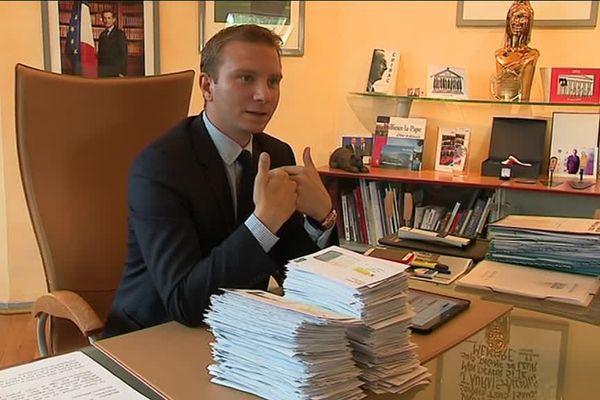 Alexandre Vincendet, Maire LR Rillieux-La-Pape et candidat malheureux dans la 7ème circonscription du Rhône, ne s'avoue pas battu.