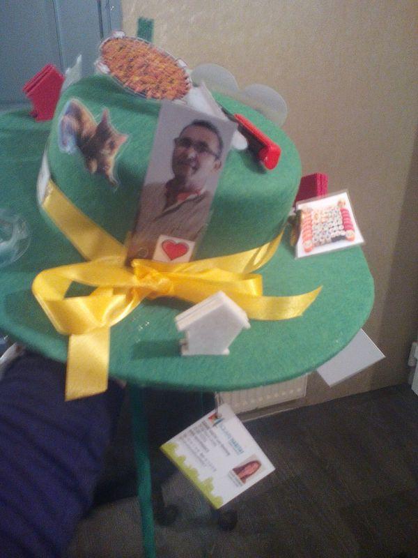 Le chapeau que portera Laurette à la foire de la Sainte-Catherine