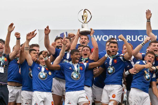 Les bleuets célèbrent leur titre mondial - juin 2019