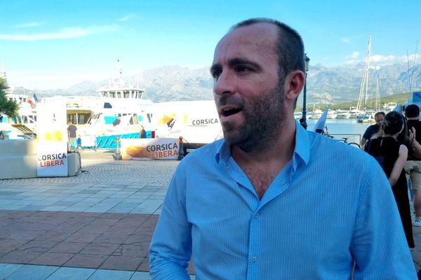 Sébastien Quenot, chargé des relations médias durant la campagne des territoriales