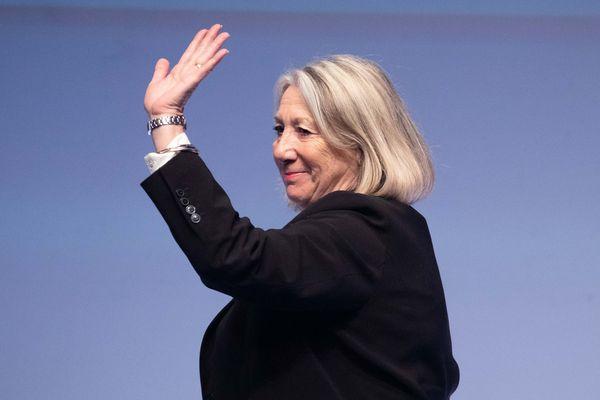 Joelle Mélin, eurodéputée d'Aubagne.