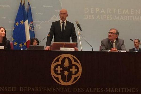 Eric Ciotti élu président du conseil départemental des Alpes-maritimes