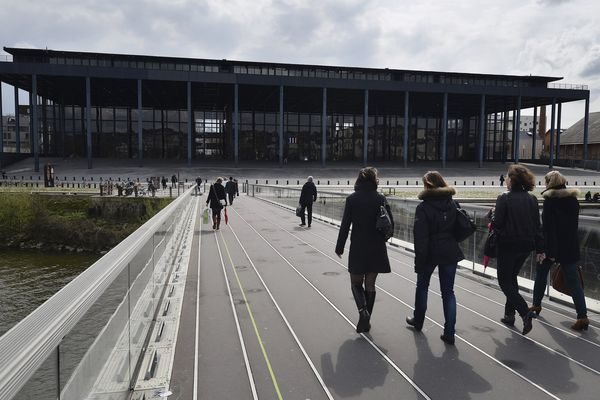 Le palais de justice de Nantes, en mars 2014.