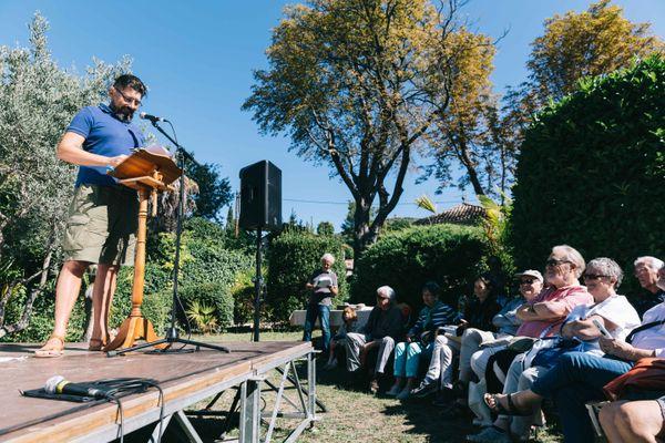 le public est invité à la découverte de la maison et des jardins de Jean Giono situés dans le quartier du Paraïs à Manosque.