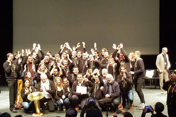 Ce week-end à Amiens, le Hauts-de-France Brass Band a battu Paris, le tenant du titre.