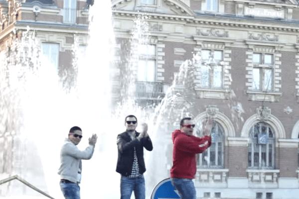 """Capture d'écran du clip """"Happy"""" de la ville d'Albi publié le 25 janvier"""