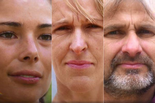Lola, Marie-France et Fabrice : trois ch'tis dans l'équipe violette