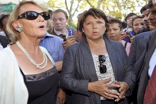 Hélène Mandroux et Martine Aubry : 2 des 5 femmes à la tête de villes de plus de 100 000 habitants.