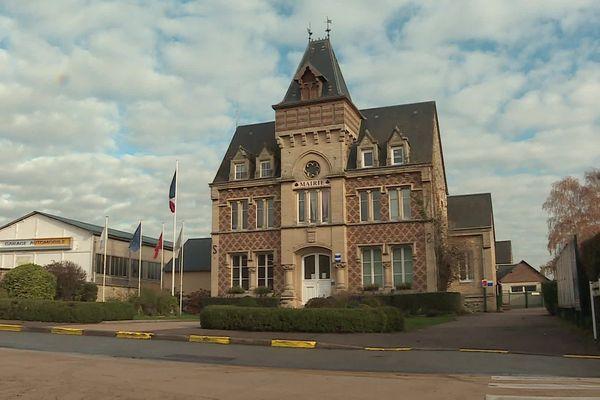 la mairie de Vexin sur Epte