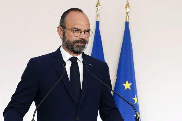 Edouard Philippe lors d'une conférence de presse sur le covid19, le 19 avril dernier