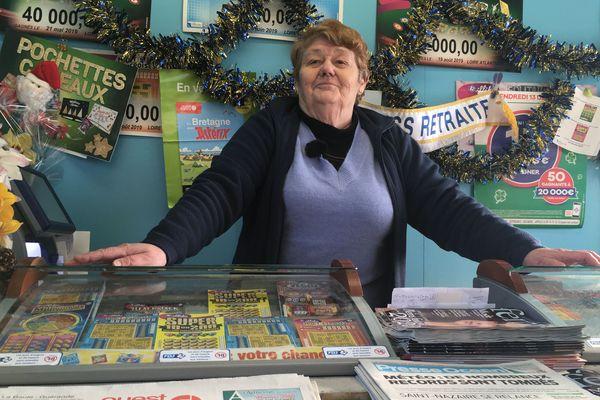 La quille pour Bernadette après avoir livré ou vendu des journaux pendant 55 ans à Saint-Nazaire.