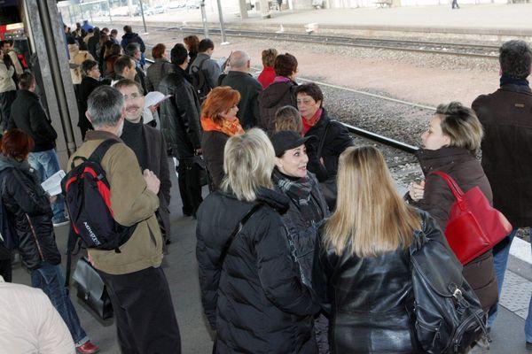Prenez vos précautions, la circulation des trains ce lundi 9 décembre sera fortement perturbée en Alsace.