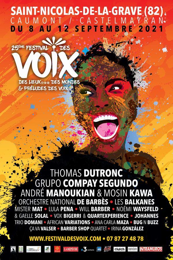 La 25ème édition du festival se tiendra du 8 au 12 septembre 2021, à Saint Nicolas de la Grave (82)