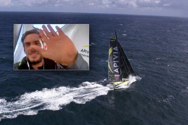 Vendée Globe : à bord d'Apivia, Charlie Dalin en direct de l'Océan Indien le 5 décembre 2020