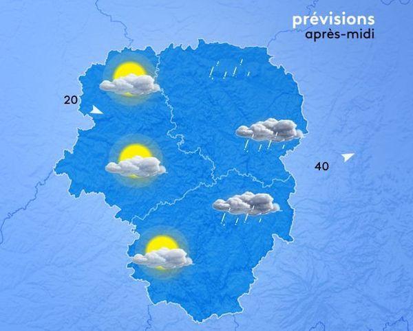 Temps et températures sont de saison.