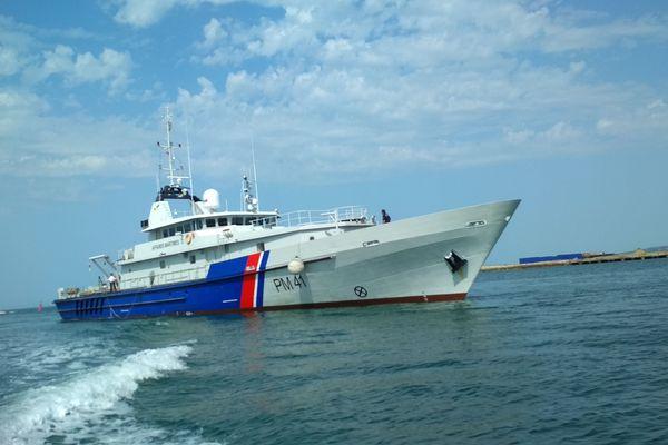 Le patrouilleur des affaires maritimes Thémis